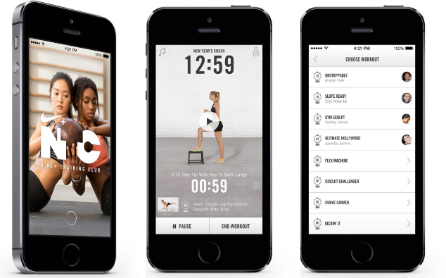 Free Nike Plus Training Club App
